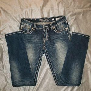 Miss Me Distressed Skinny Jeans